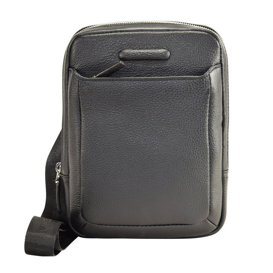 Piquadro Modus iPad Hülle Leder 22 cm in black