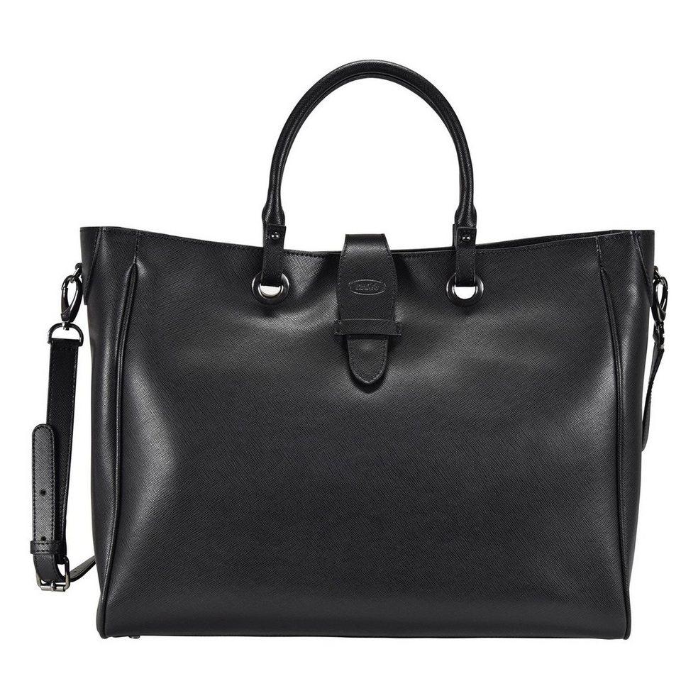 Bric's Varese Shopper Tasche Leder 39 cm in black