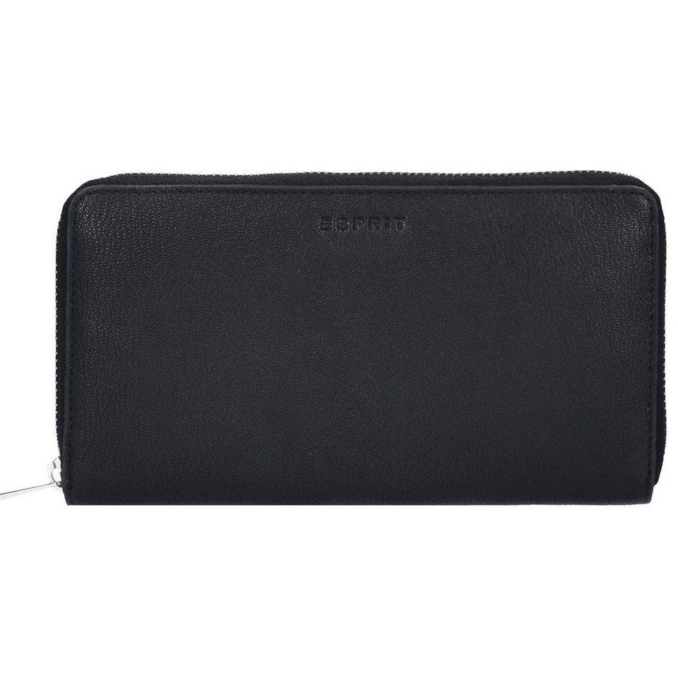 ESPRIT Esprit Basic Geldbörse 19 cm in black