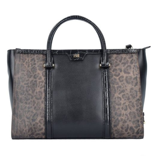 Roberto Cavalli Class Signature Collection Handtasche Leder 31 cm