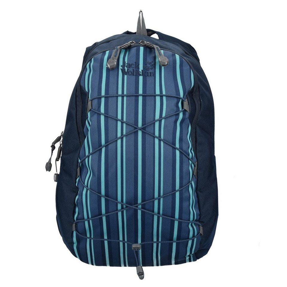 Jack Wolfskin Daypacks & Bags Savona Rucksack 43 cm in blue woven stripes