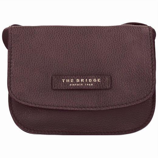 THE BRIDGE Plume Soft Donna Mini Bag Umhängetasche Leder 20 cm