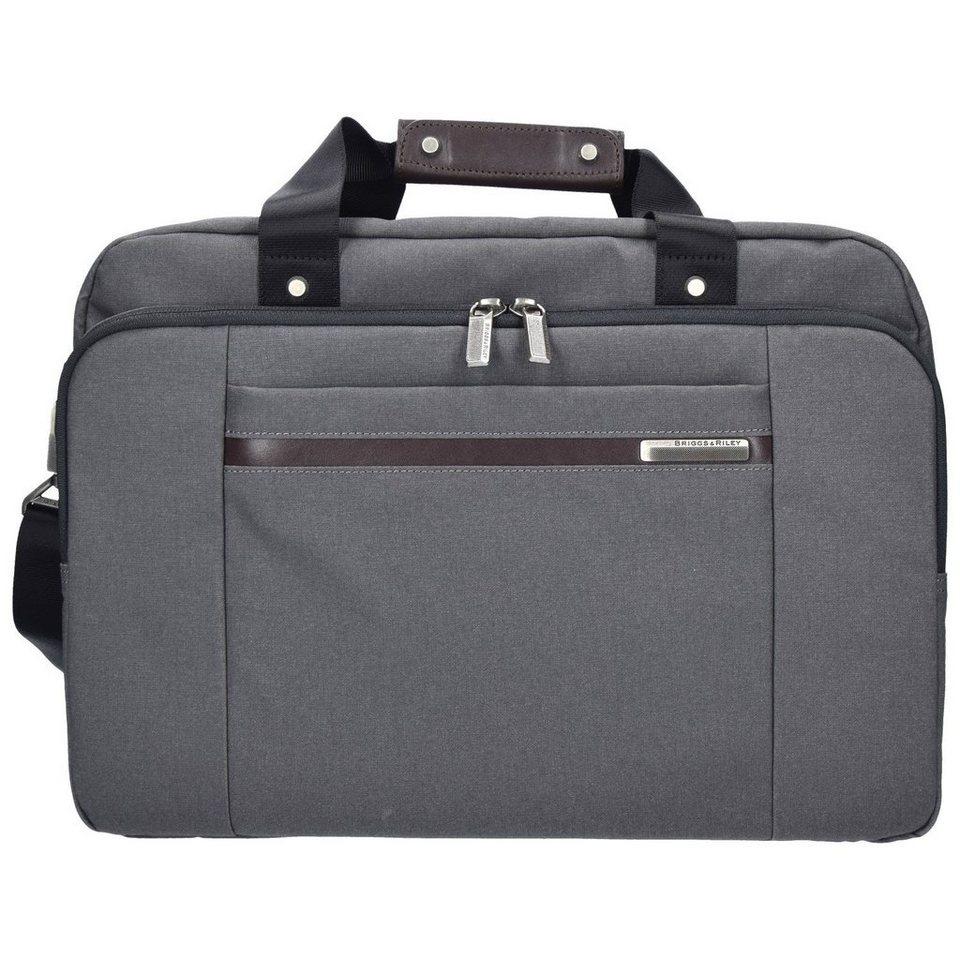 Briggs&Riley Briggs&Riley Kinzie Street Aktentasche 41 cm Laptopfach in grey