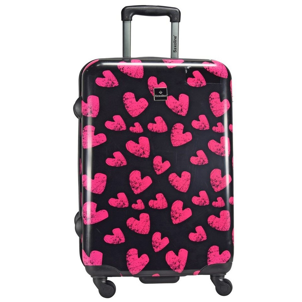 Saxoline Saxoline Hearts 4-Rollen Trolley 67 cm in hearts