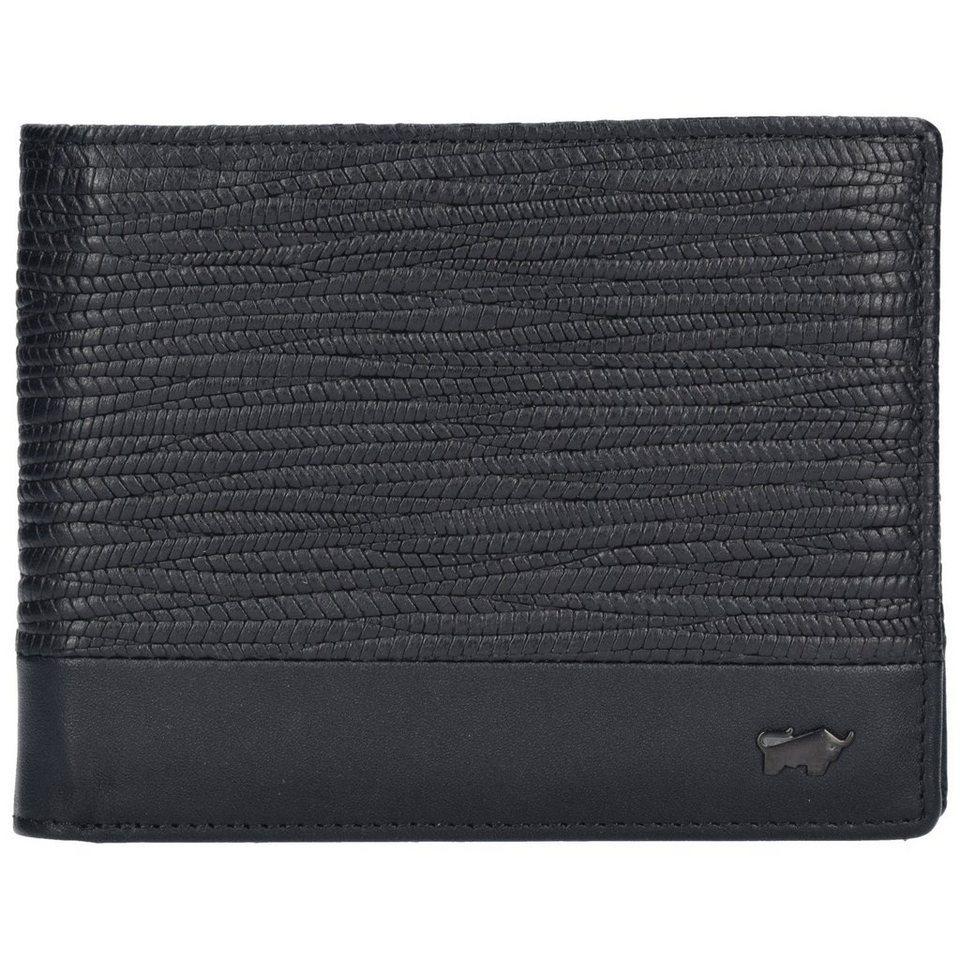 Braun Büffel Braun Büffel Toulouse Geldbörse Leder 12,5 cm in black