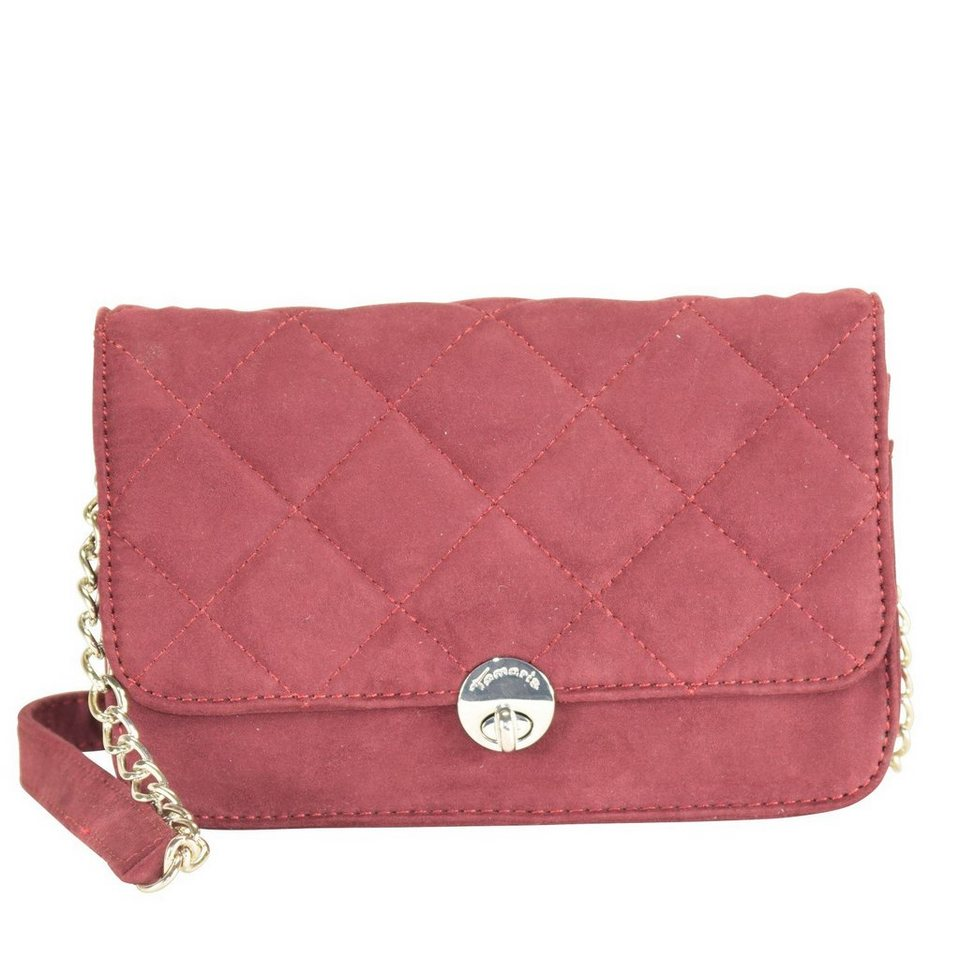 Tamaris Tamaris Mary Clutch Umhängetasche 20 cm in bordeaux
