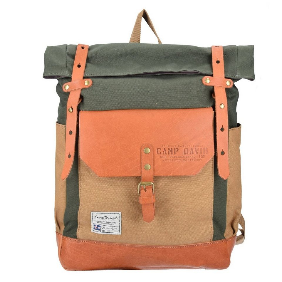 CAMP DAVID Camp David Trapper Creek Rucksack 41 cm in khaki