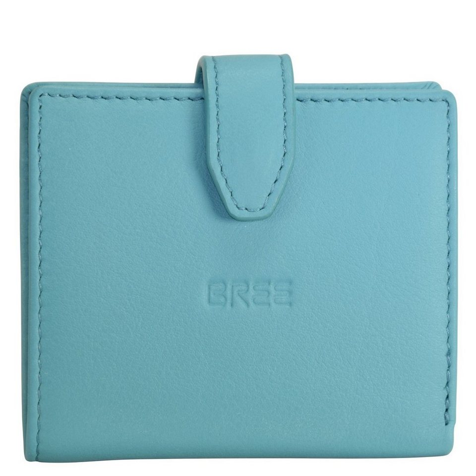 BREE Fantastic 127 Geldbörse Leder 9 cm in mineral blue