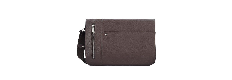Esquire Sydney Messenger Leder 35 cm Laptopfach