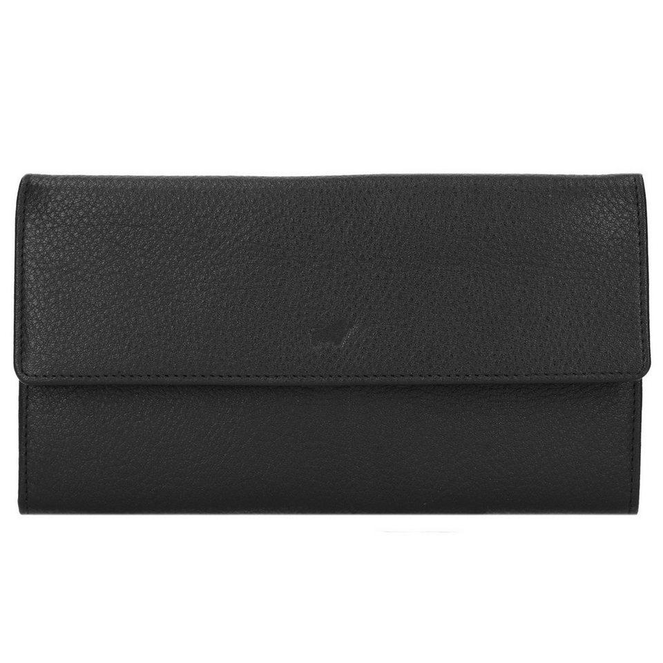 Braun Büffel Savona Kreditkartenetui Leder 18,6 cm in schwarz