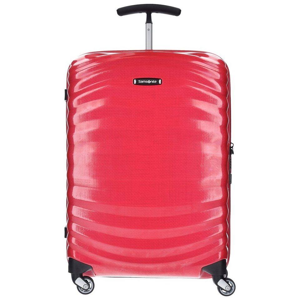 Samsonite Lite-Shock Spinner 4-Rollen Trolley 69 cm in bright pink