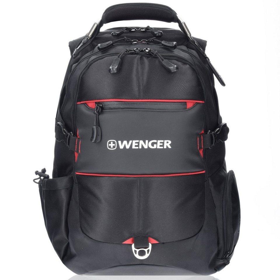 Wenger Wenger XL Notebook-Rucksack WG1275 Business Outdoor Trekking 44 in black