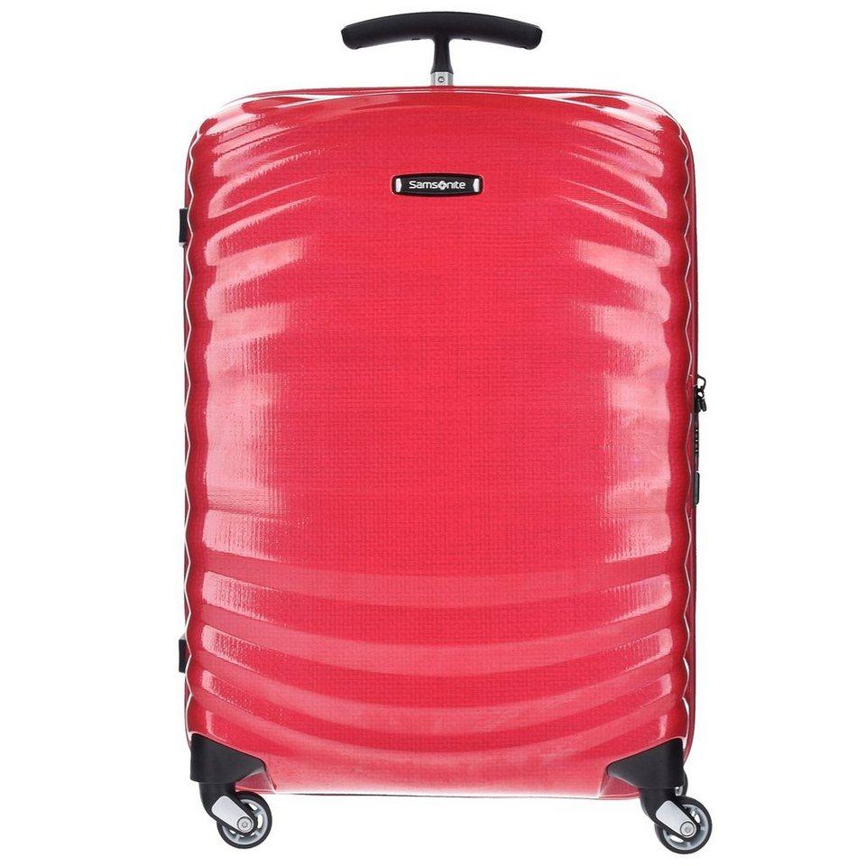 Samsonite Samsonite Lite-Shock Spinner 4-Rollen Trolley 75 cm in bright pink