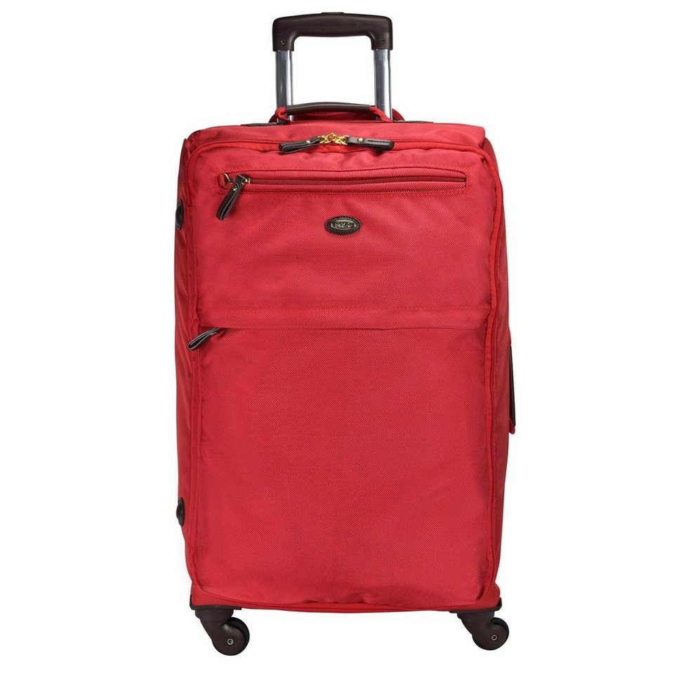 Bric's Bric's X-Travel 4-Rollen Trolley 77 cm in red