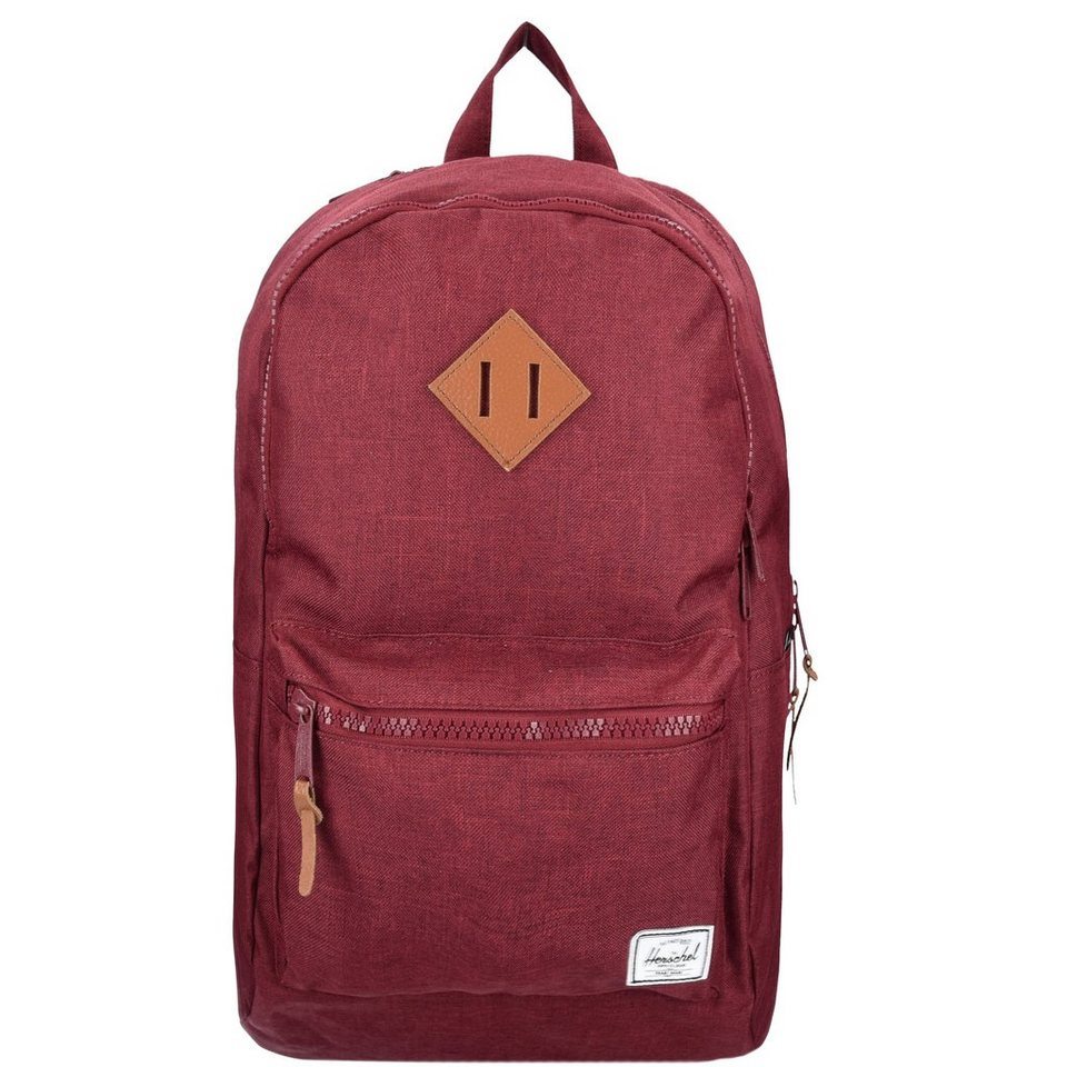 Herschel Lennox Backpack Rucksack 48 cm Laptopfach in winetasting crosshat