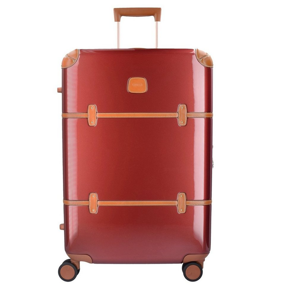 Bric's Bellagio 4-Rollen Trolley 70 cm in red