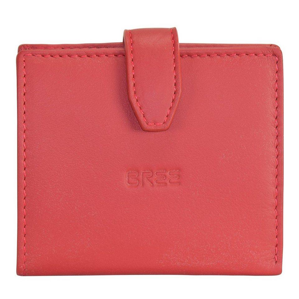 Bree Bree Fantastic 127 Geldbörse Leder 9 cm in red
