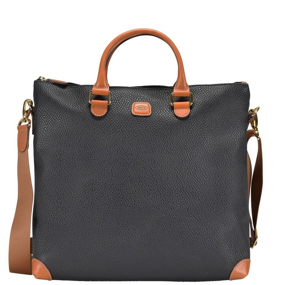 Bric's Bric's Magellano Shopper Tasche 35 cm in black/brown