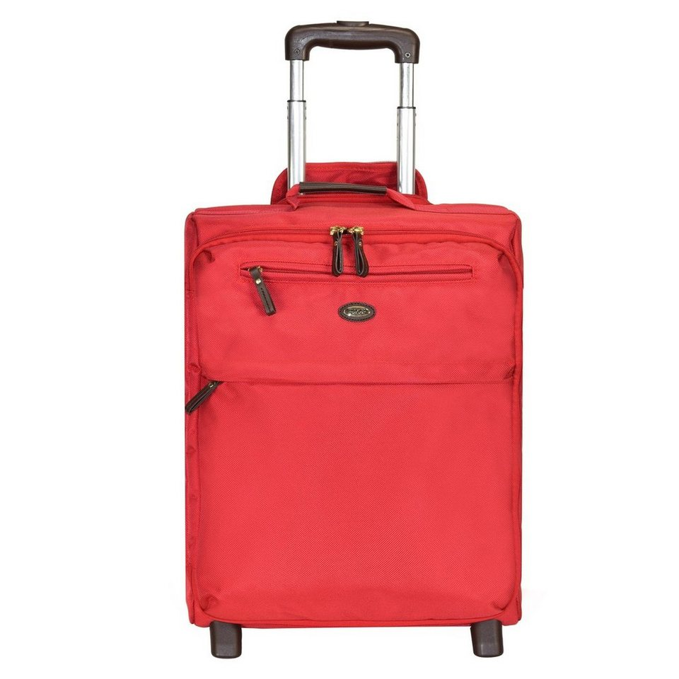Bric's X-Travel 2-Rollen Kabinentrolley 50 cm in red