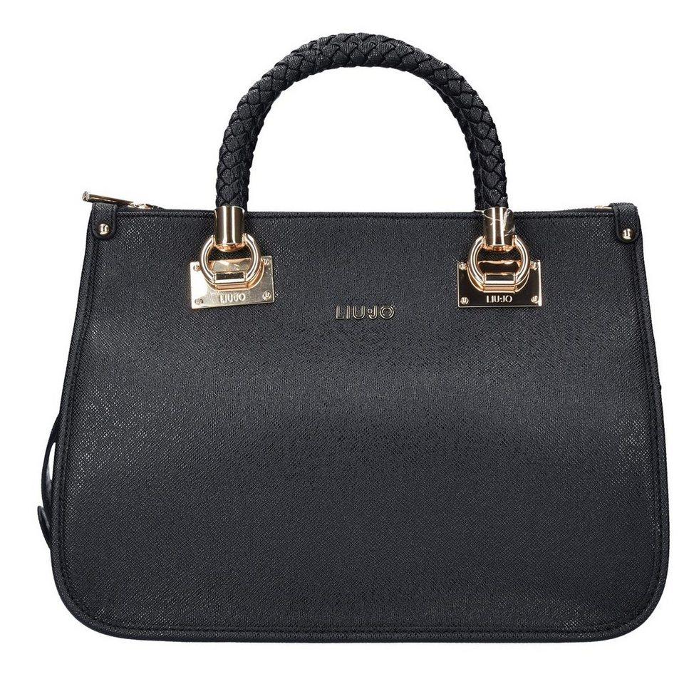 Liu Jo Liu Jo Shopping Anna M Handtasche 35 cm in nero
