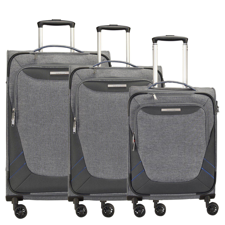 travelite Mare 4-Rollen Kofferset 3tlg.