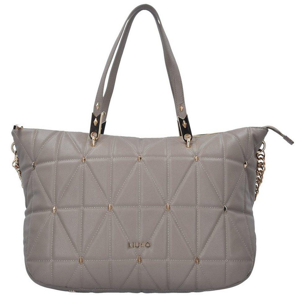Liu Jo Liu Jo Shopping Orizzontale Shopper Tasche 34 cm in tortora
