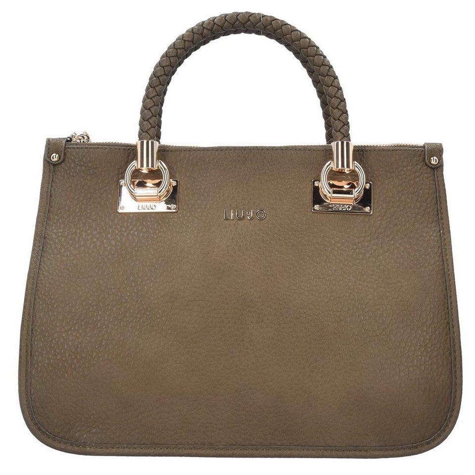 Liu Jo Shopping M Quadrata Handtasche 35 cm in green military
