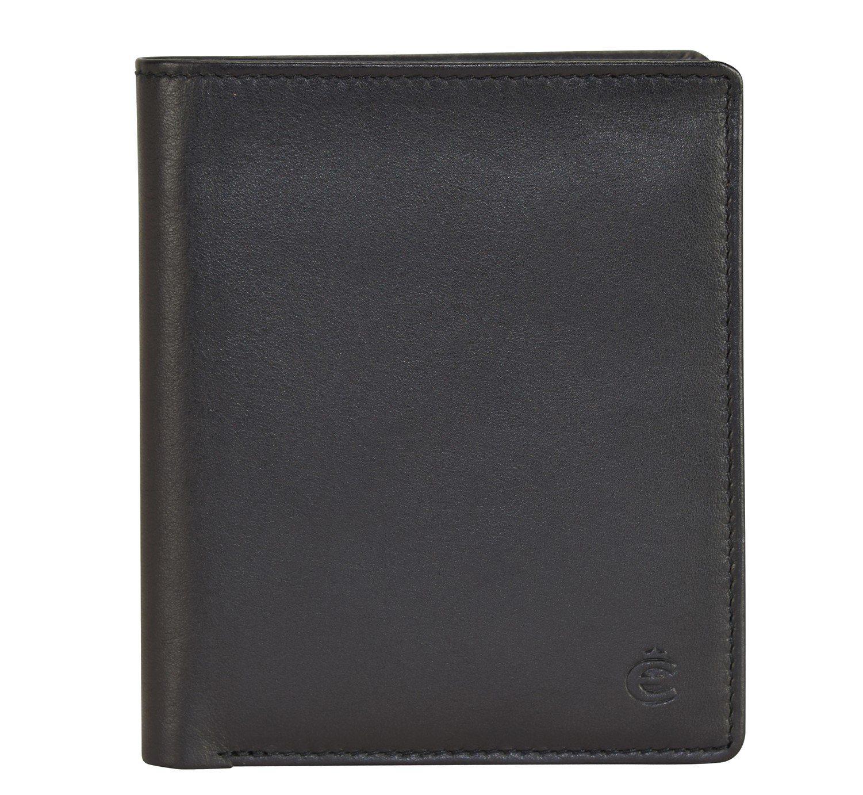 Esquire Compact Geldbörse Leder 9 cm