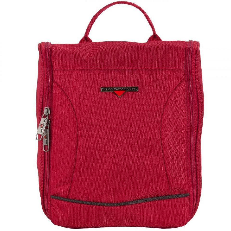 Hardware O-Zone Washbag Kulturtasche 24 cm in red-black