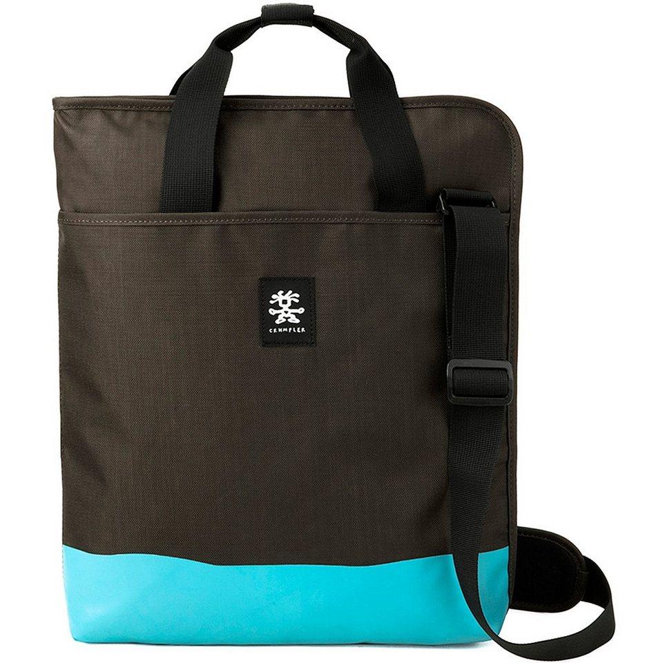 Crumpler Crumpler Private Surprise Slim Shopper 15 33,5 cm Laptopfach in espresso-turquoise