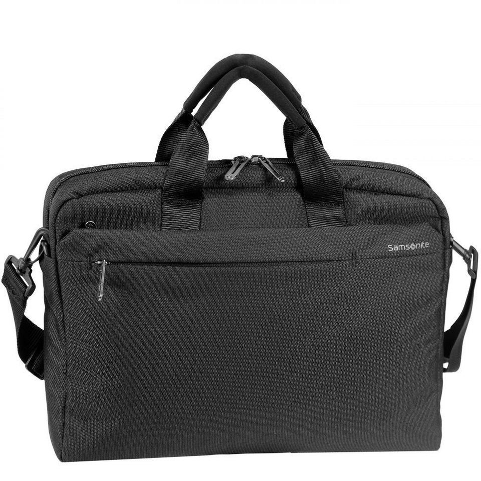 Samsonite Network 2 Tablet Netbook Bag Laptoptasche 38,5 cm in charcoal