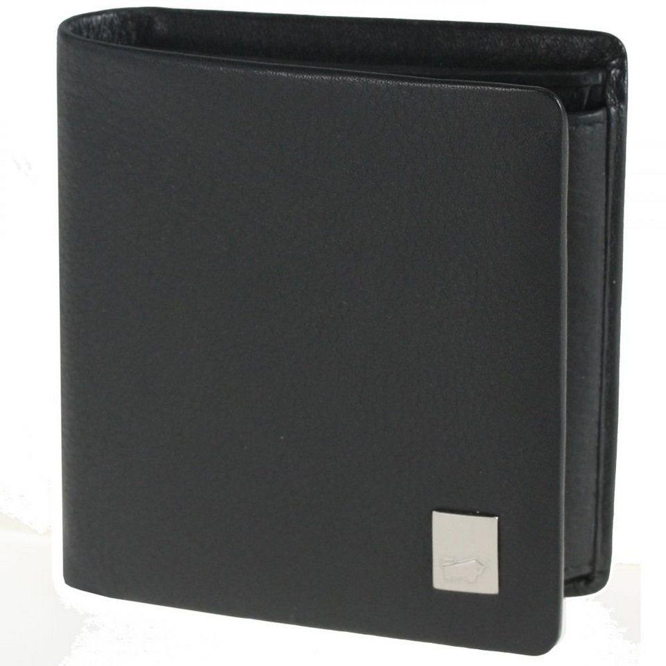 Braun Büffel Zürich Geldbörse II Leder 9 cm in schwarz