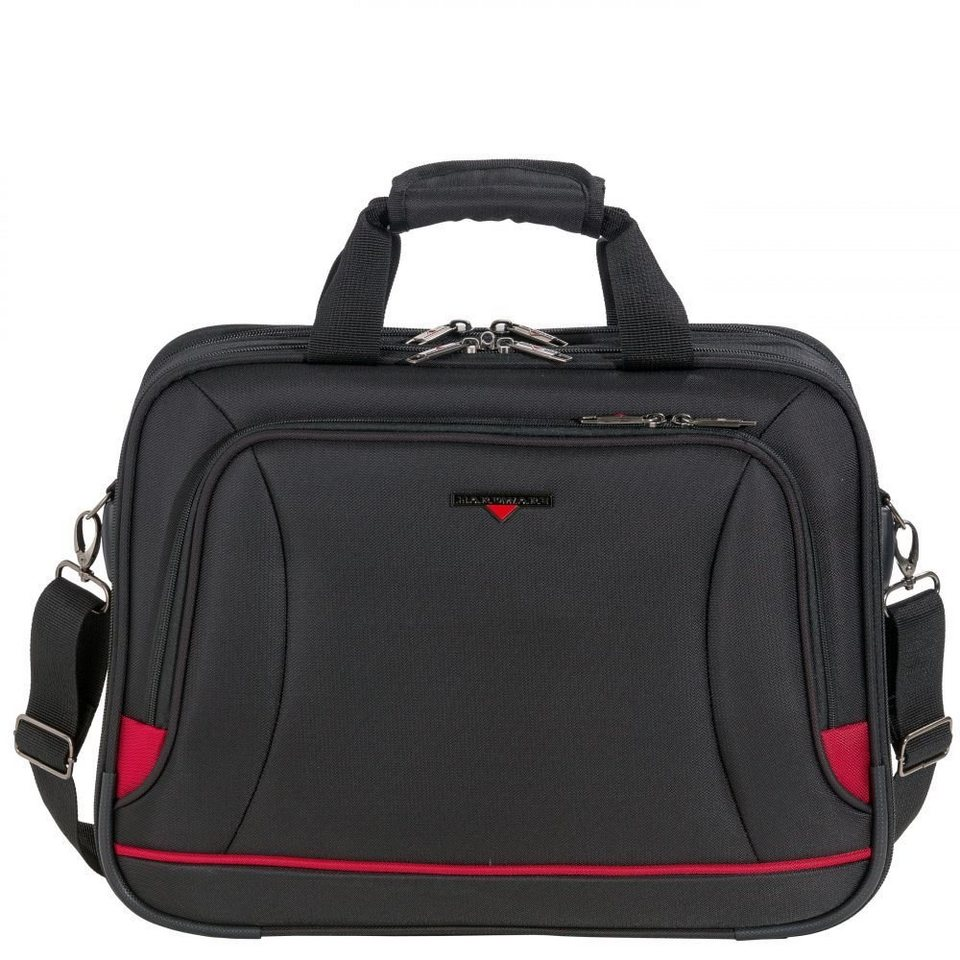 Hardware O-Zone Bordbag Flugumhänger 43 cm in black-red