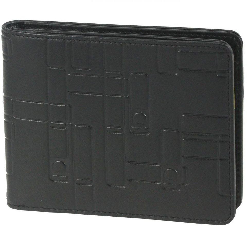Delsey Delsey Echappée Geldbörse Leder 12,7 cm in schwarz