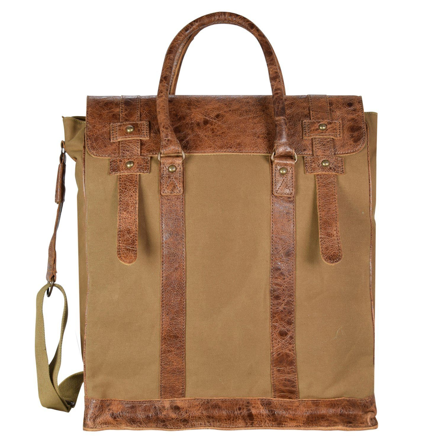 Greenburry White Spirit Flathead Handtasche 29 cm Laptopfach