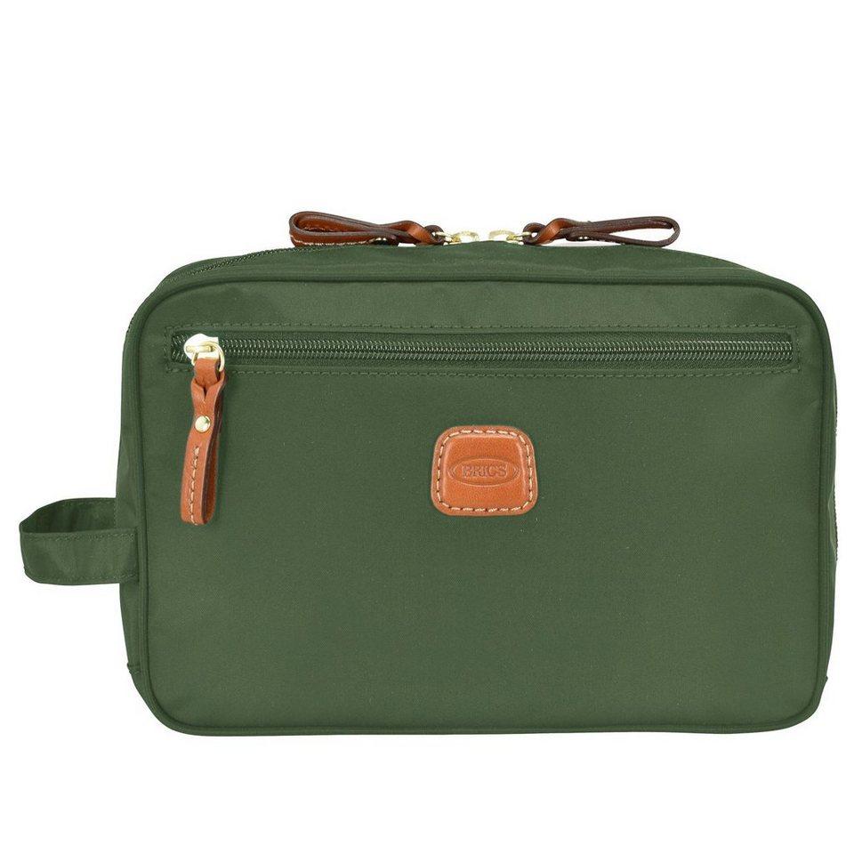 Bric's X-Bag Kosmetiktasche 24 cm in olive