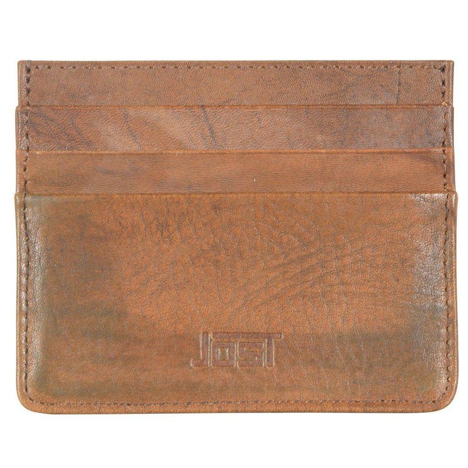 JOST Jost Ranger Kreditkartenetui Leder 10 cm in cognac