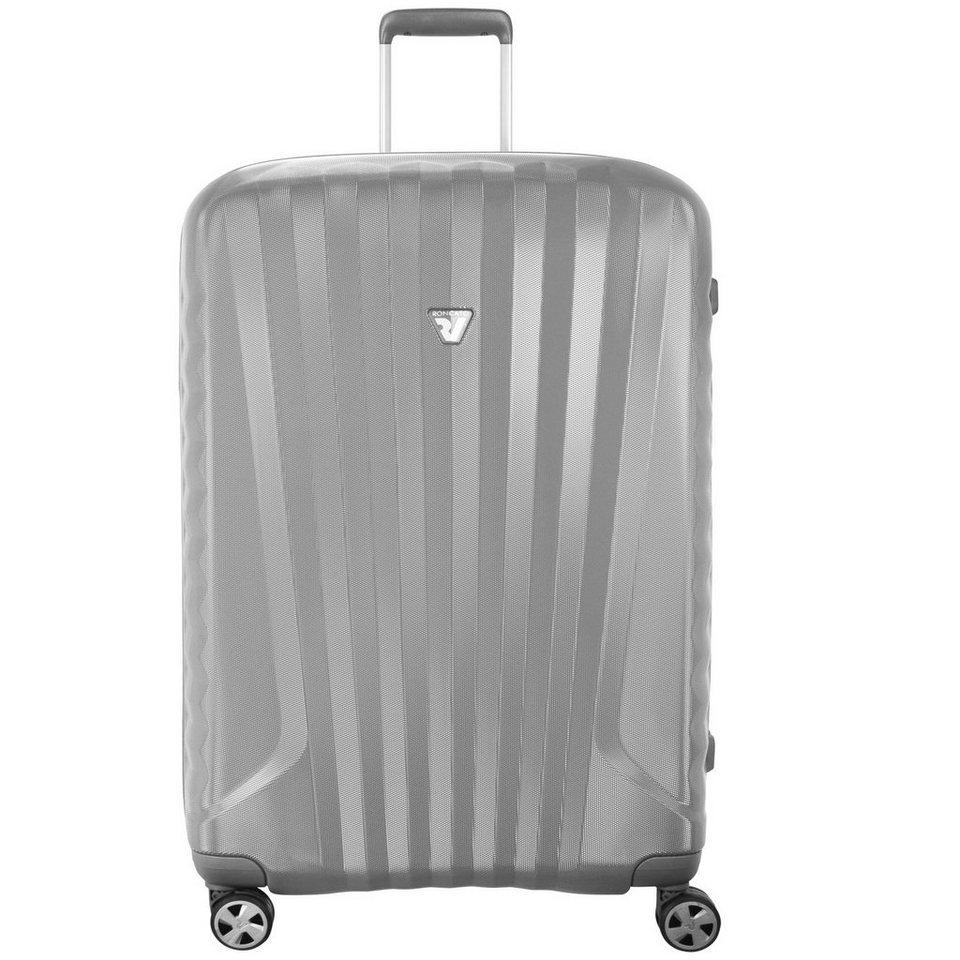 RONCATO UNO ZSL Premium 4-Rollen Trolley 78 cm in grigio silvercolored