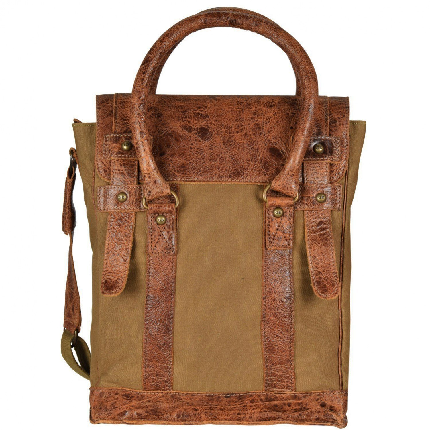 Greenburry Greenburry White Spirit Flathead II Handtasche 30 cm Tabletfach
