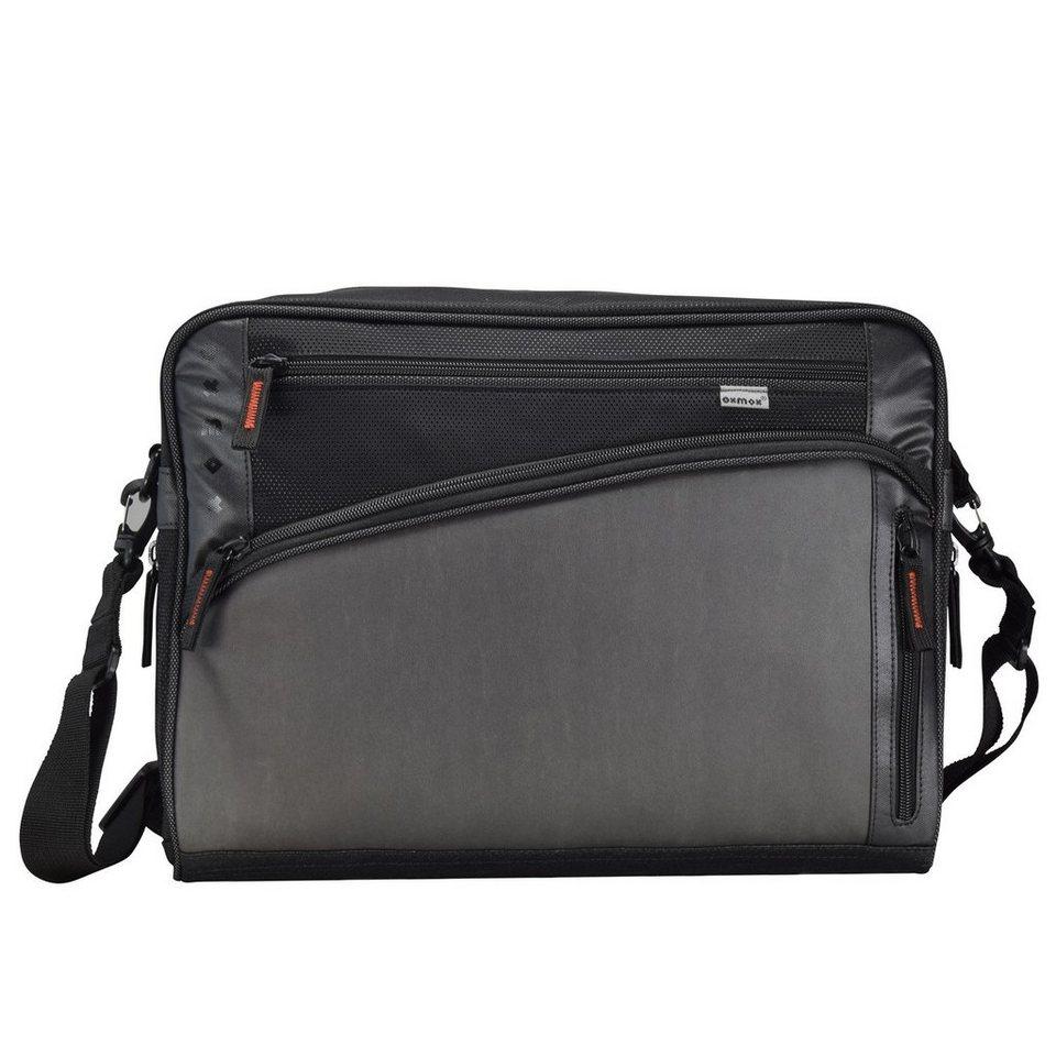 oxmox oxmox Touch-It Umhängetasche 40 cm Laptopfach in grau