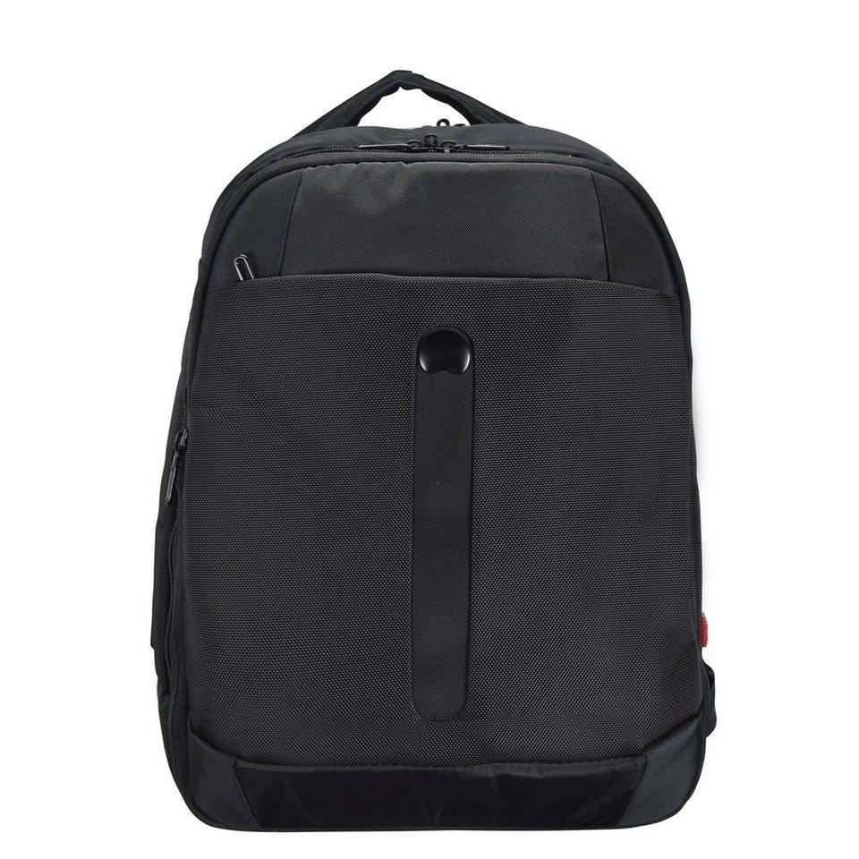 Delsey Bellecour Rucksack 42 cm Laptopfach in schwarz
