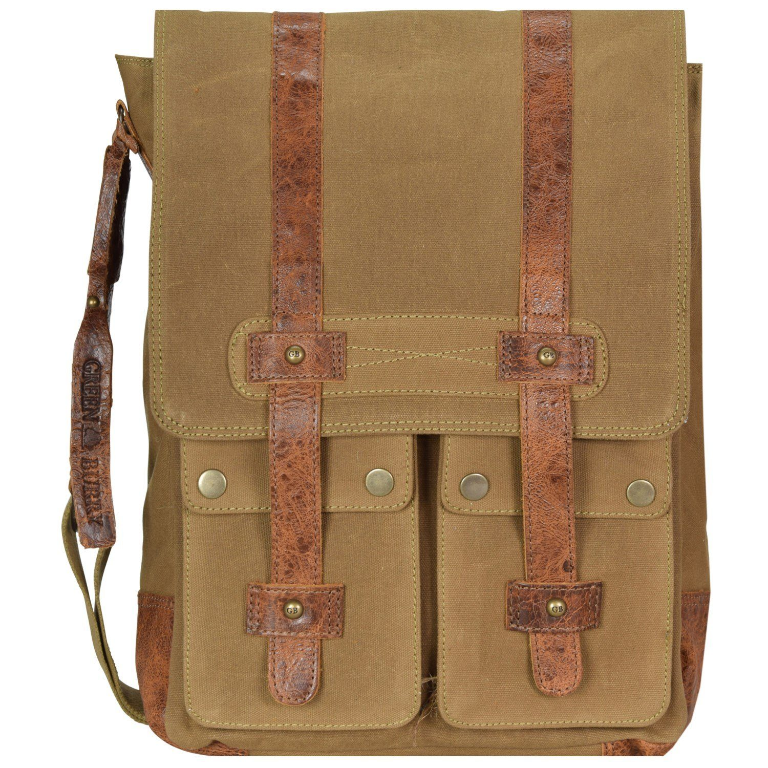 Greenburry Greenburry White Spirit Harley Umhängetasche 33 cm Tabletfach