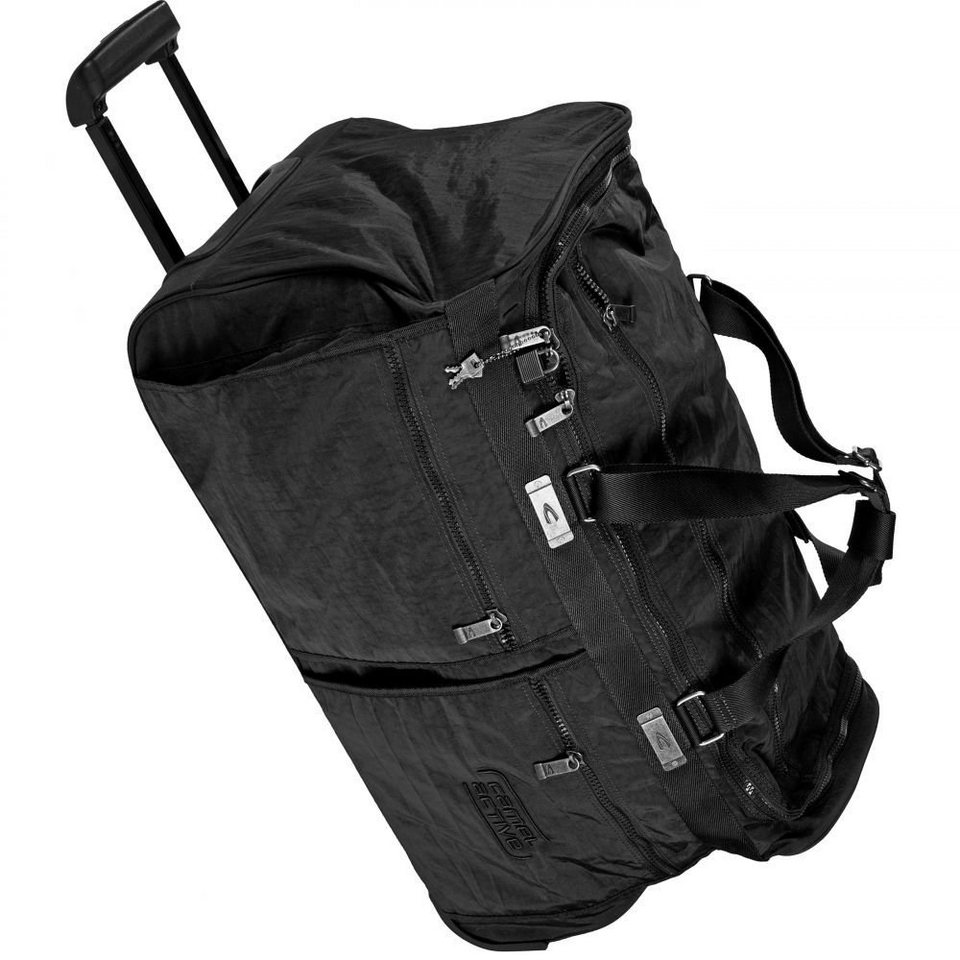 camel active Journey Reisetasche 70 cm in schwarz