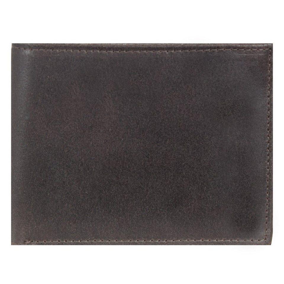 Leonhard Heyden Dakota Geldbörse Leder 12,5 cm in braun