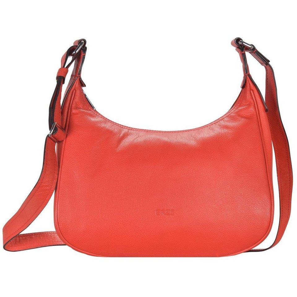 BREE Bree Sofia 16 Schultertasche Leder 31 cm in red