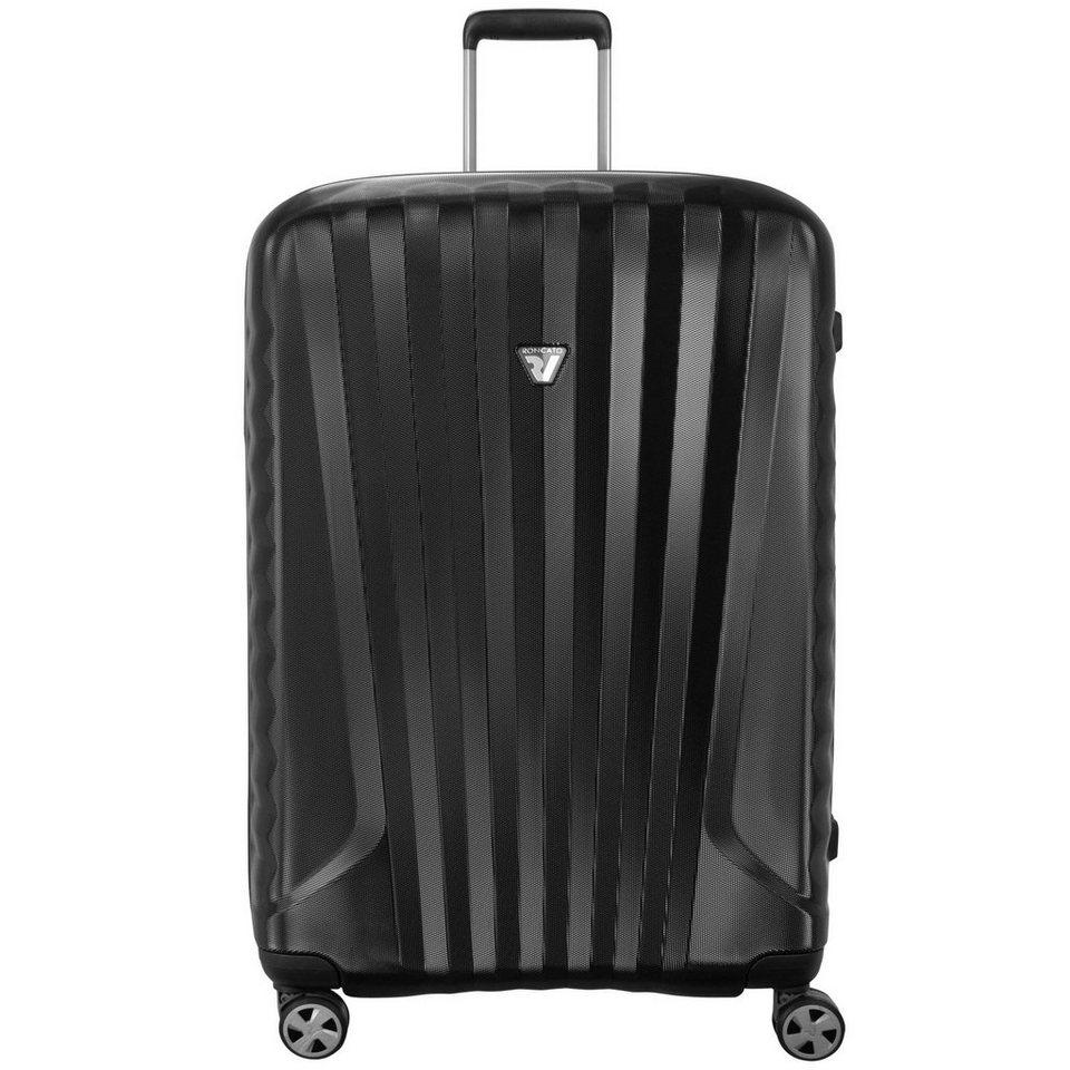 RONCATO Roncato UNO ZSL Premium 4-Rollen Trolley 78 cm in nero nero