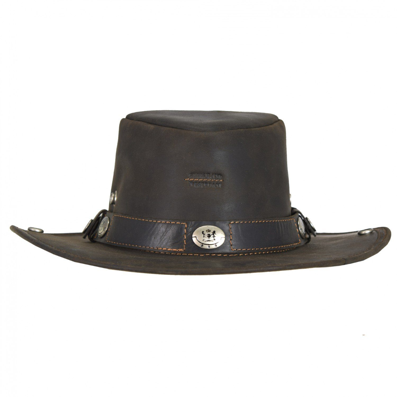 GREENLAND Westcoast Hut Cowboyhut Leder Ø 36 cm