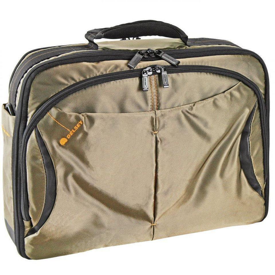 Delsey Delsey DLC Laptoptasche 42 cm in dunkelbraun