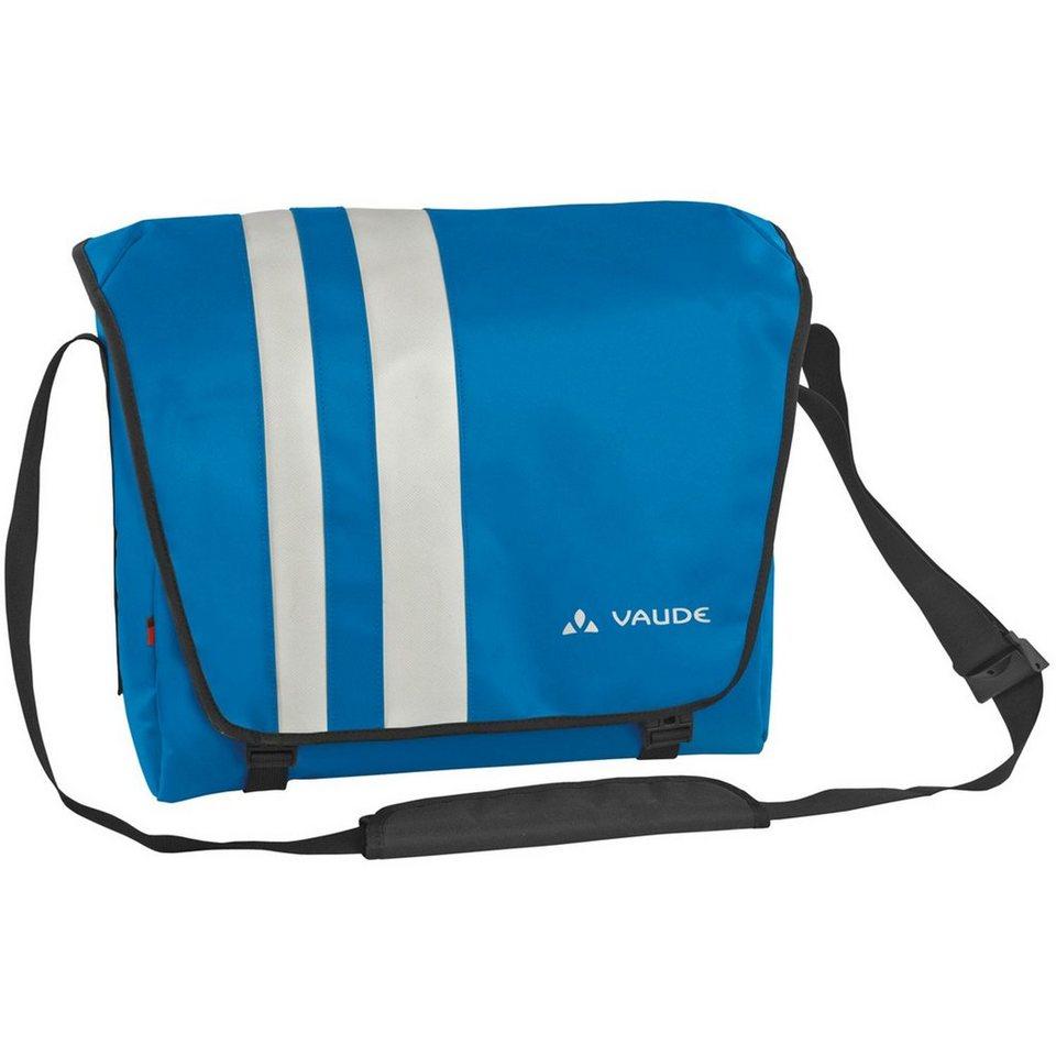 VAUDE New Wash Off Albert L Messenger 40 cm Laptopfach in azure
