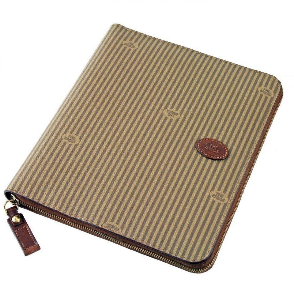 The Bridge Heritage Uomo IPad-Etui Leder 26x22 cm in braun